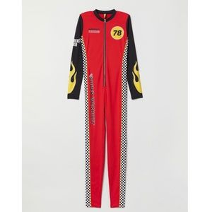 Race Car Driver Jumpsuit Costume S